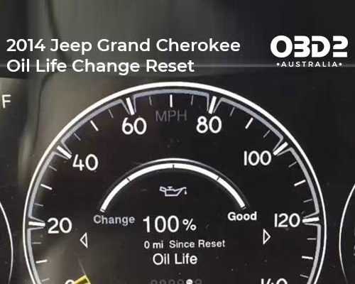obd2 post 2014 Jeep Grand Cherokee Oil Life Change Reset