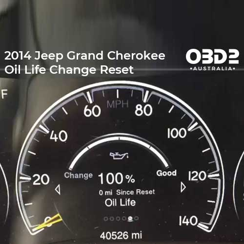 obd2 post 2014 Jeep Grand Cherokee Oil Life Change Reset