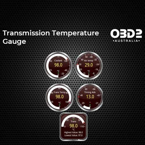 obd2 post Transmission Temperature Gauge