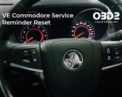 obd2 post VE Commodore Service