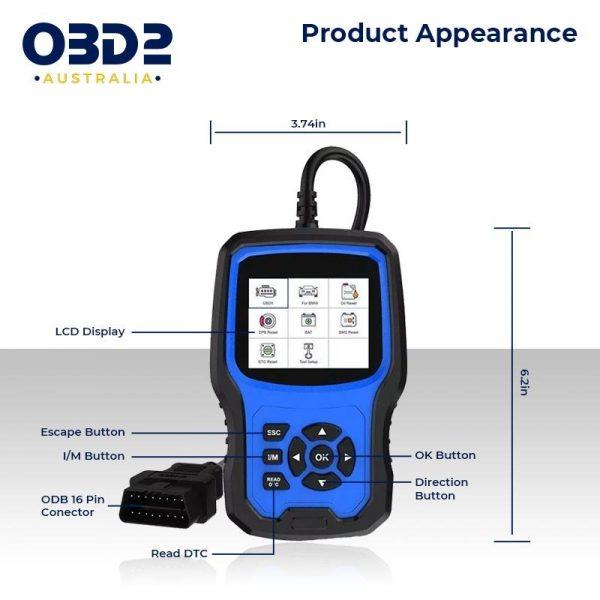 bmw mini obd2 scanner full system abs airbag sas bms dpf j