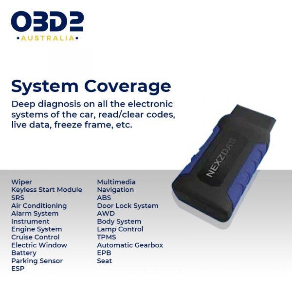 obd2 full system professional scan tool bluetooth b