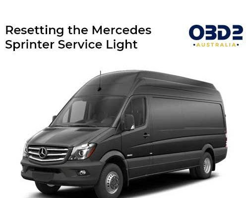 obd2 post Resetting the Mercedes Sprinter Service Light
