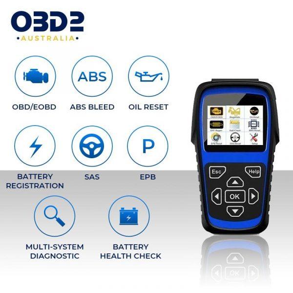 mercedes obd2 scan tool full system b