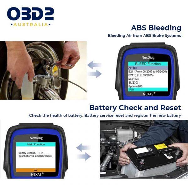 mercedes obd2 scan tool full system d