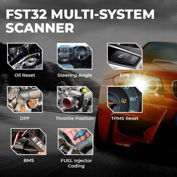 fst32 multisystem scanner