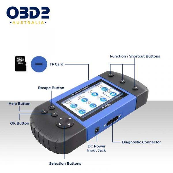 obd2 full system professional scan tool handheld b