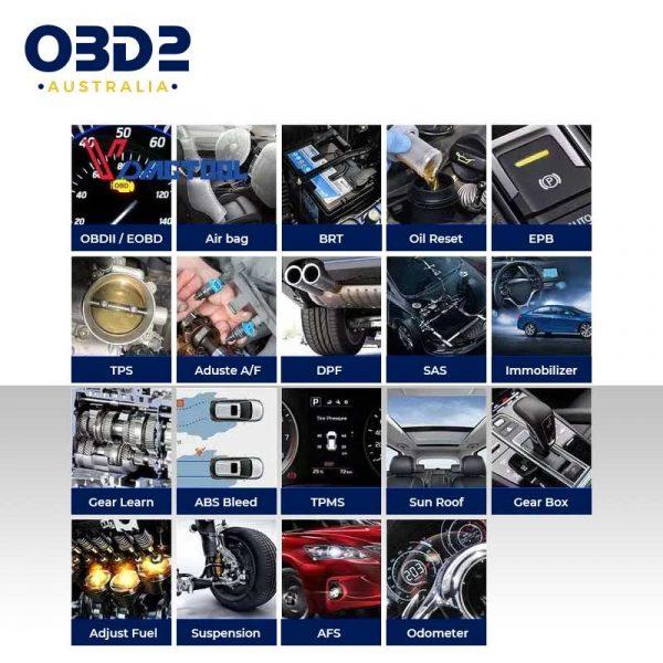 obd2 full system professional scan tool handheld c