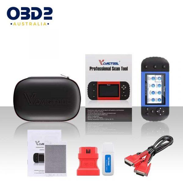 obd2 full system professional scan tool handheld d