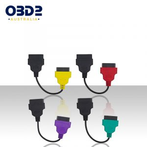 alfa fiat obd2 multiecuscan adaptor cable set a