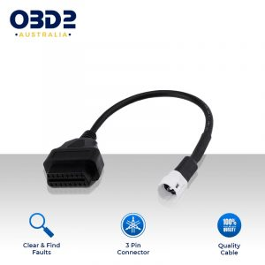 yamaha 3 pin to obd2 adapter cable motorcycles a