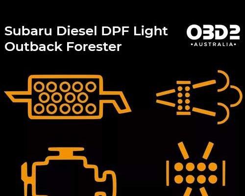 obd2 post Subaru Diesel DPF Light 1
