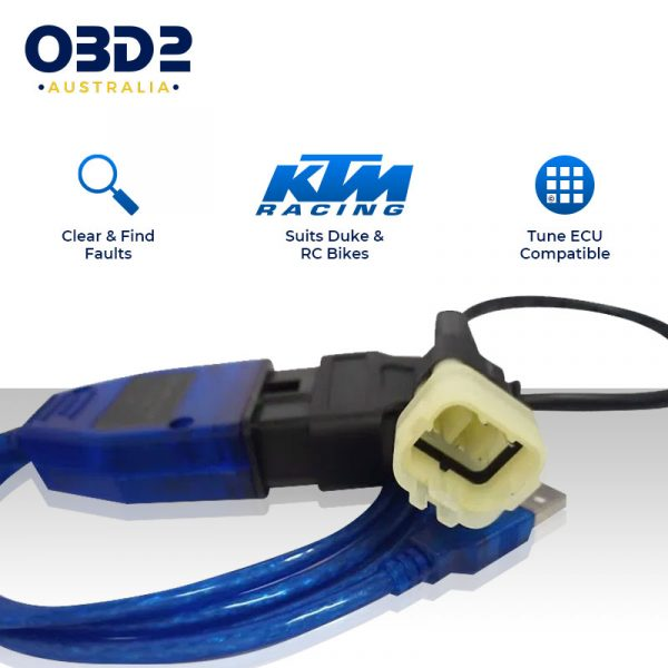 ktm motorcycle obd scan tool diagnostic cable k line a