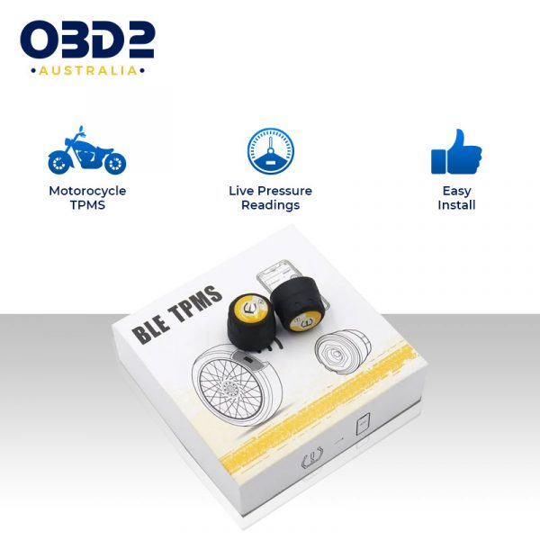 motorcycle tyre pressure monitor bluetooth tpms a
