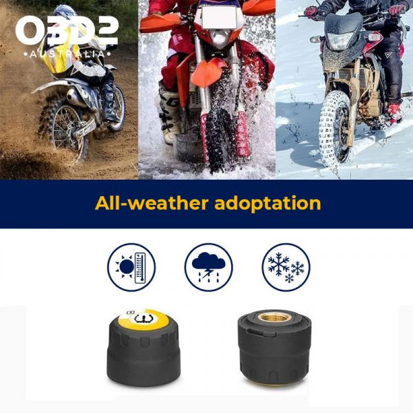 motorcycle tyre pressure monitor bluetooth tpms c