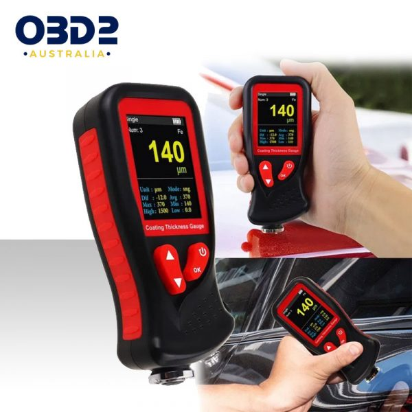 professional paint coating thickness gauge meter c