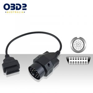 20 pin obd to 16 pin obd2 diagnostic adapter cable bmw a