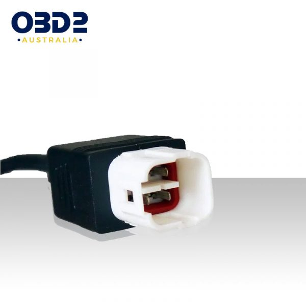 honda motorcycle obd connector 4 pin to obd2 adaptor cable b
