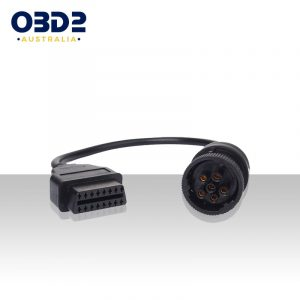 truck j1708 6pin to 16pin obd2 adaptor a