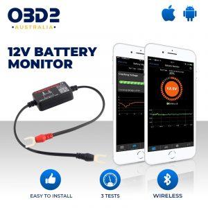 12v battery monitor bluetooth wireless a
