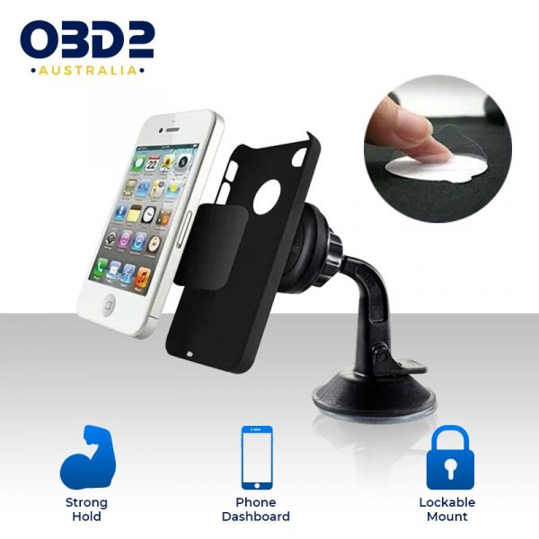 car phone mount 360 rotation magnetic phone holder a