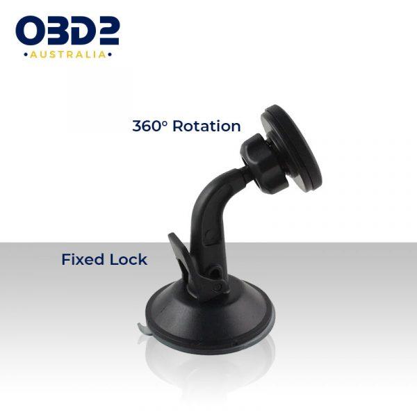 car phone mount 360 rotation magnetic phone holder e