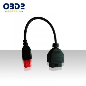 euro5 motorbike obd2 to 6 pin adaptor cable a