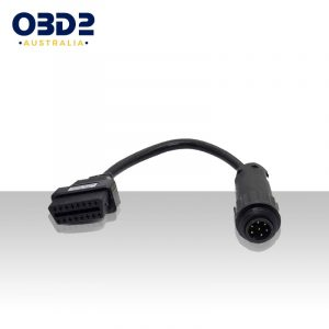 7 pin knorr wabco trailer cable to 16 pin obd a