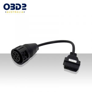 MAN 12 Pin to 16 Pin OBD Adapter Cable a