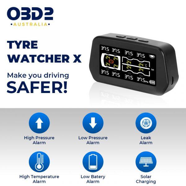 caravan tyre pressure monitoring system tpms 6 8 sensors d