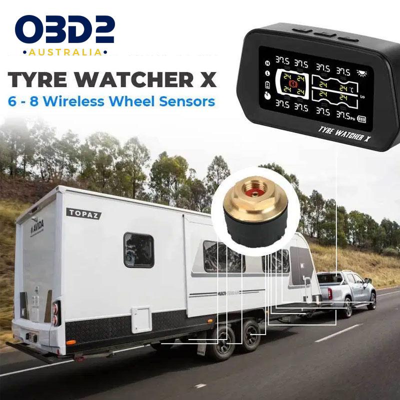 caravan tyre pressure monitoring system tpms 6 8 sensors g