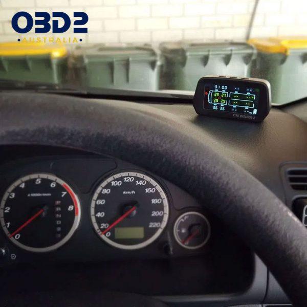 caravan tyre pressure monitoring system tpms 6 8 sensors h