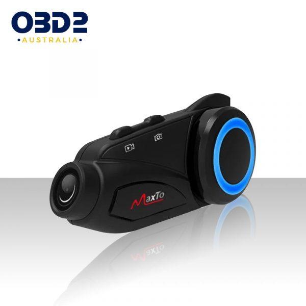 bluetooth for motorcycle helmet motorbike intercom hd camera a