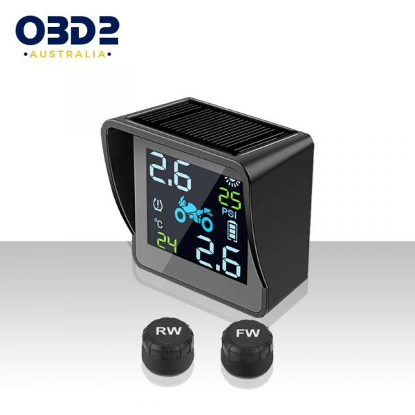 solar motorcycle tyre pressure monitor tpms b